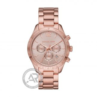 Michael Kors Layton Rose Gold Stainless Steel Chronograph MK6796