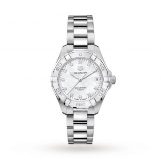 AQUARACER QUARTZ LADY WATCH 32MM DIAMONDS WBD1314.BA0740