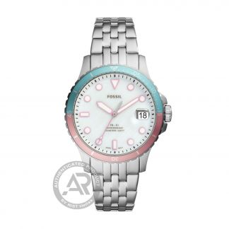 Fossil FB-01 Stainless Steel Bracelet Mother of Pearl Dial