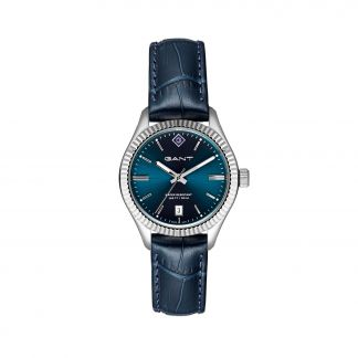 Gant Sussex stainless steel blue leather strap G136001