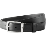 Montblanc Trapeze Shiny Stainless Steel Pin Buckle Belt