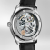PORTUGIESER AUTOMATIC 40 STAINLESS STEEL BLACK LEATHER STRAP IW358303