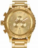 Nixon 51-30 Chrono Gold Stainless Steel Bracelet