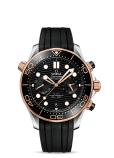 SEAMASTER DIVER 300M OMEGA CO‑AXIAL MASTER CHRONOMETER CHRONOGRAPH 44 MM